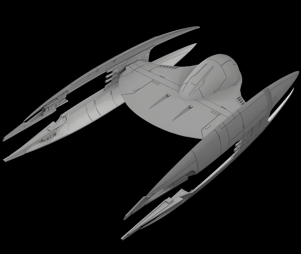 Droid Starfighter WIP