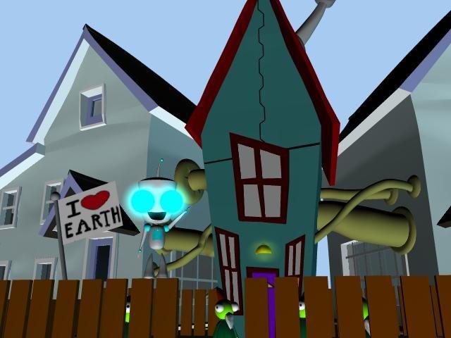 Invader Zim House