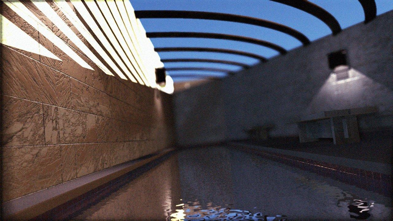 Residential Pool Timelapse Frame