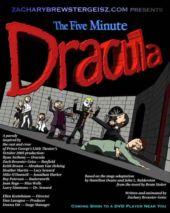 The Five Minute Dracula--Movie Poster