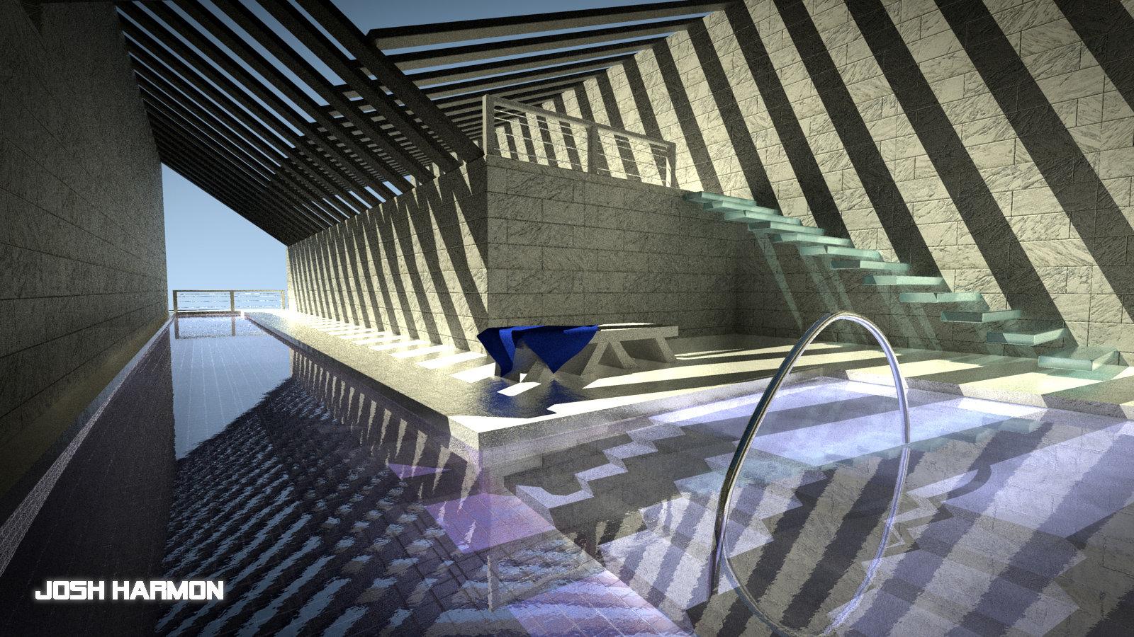 Residential Lap Pool 2