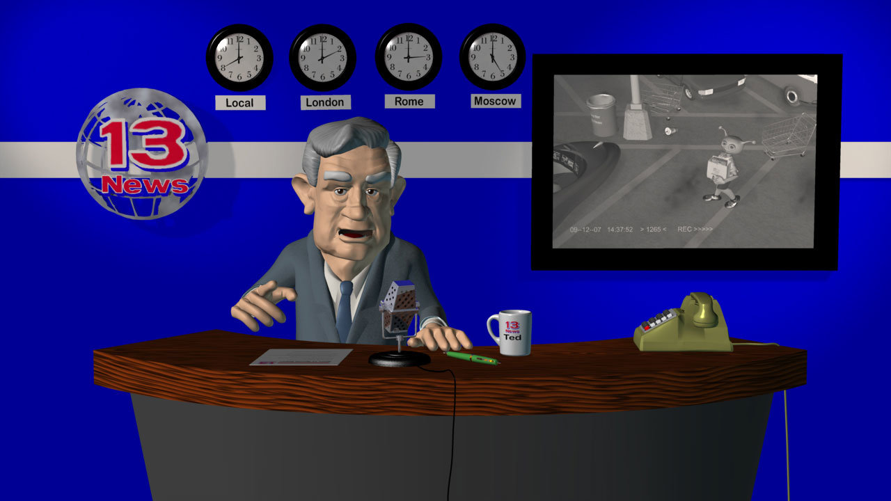 """Morning News still from WIP """"Alien Invasion"""""""