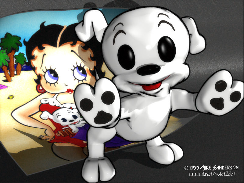 Pudgy - Betty Boop's puppy