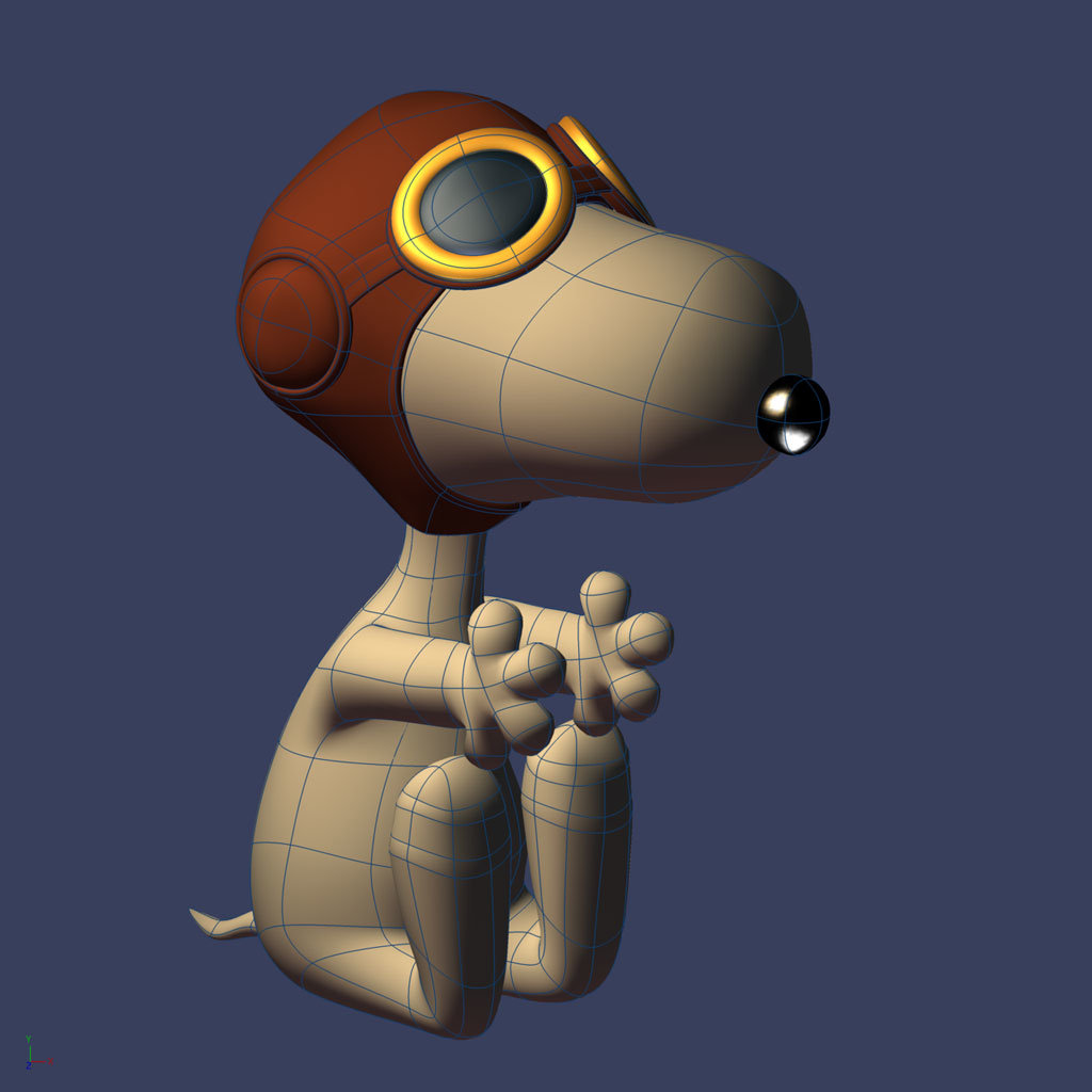 snoopy_modeling_wires.jpg